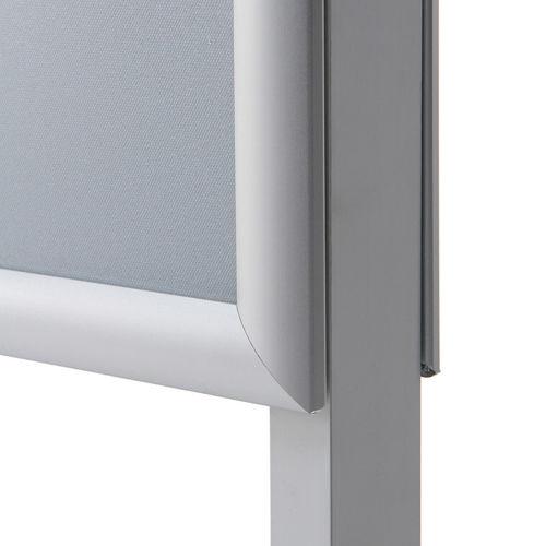 Dodatkowe Stojak dwustronny na plakat B1 700x1000 mm | Stojaki plakatowe i NW87